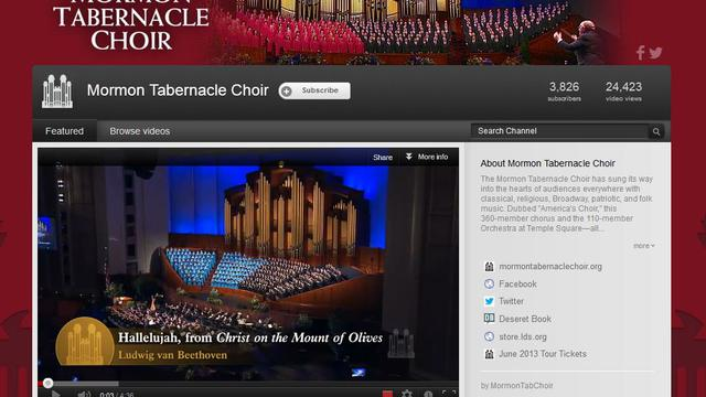 mormon tabernacle choir youtube 2